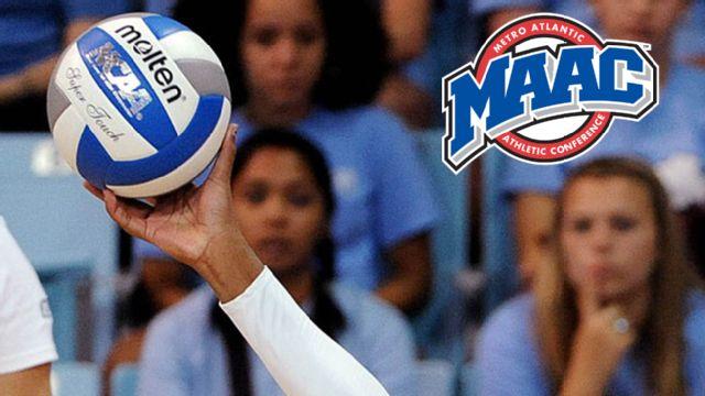 Marist vs. Fairfield (Semifinal #1) (MAAC Women's Volleyball)