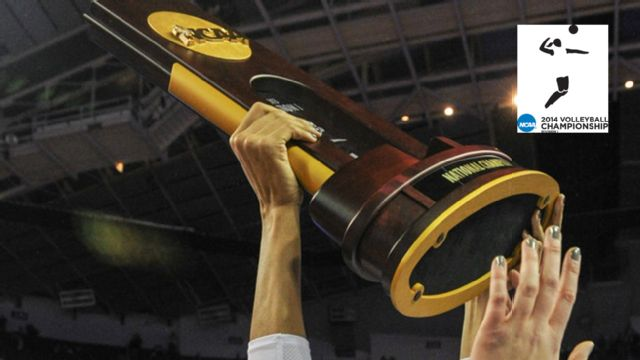 2014 NCAA Women's Volleyball Championship Trophy Presentation