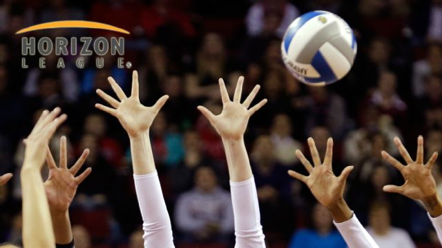 Valparaiso vs. Illinois-Chicago (Quarterfinals) (Horizon League Women's Volleyball)