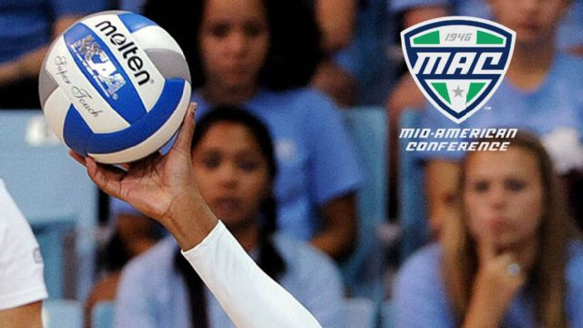 Miami (Ohio) vs. Western Michigan (Finals) (MAC Women's Volleyball)