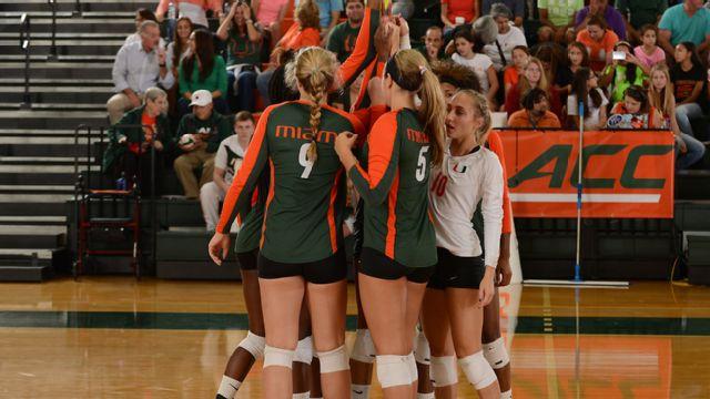 Illinois State vs. Miami (FL) (W Volleyball)