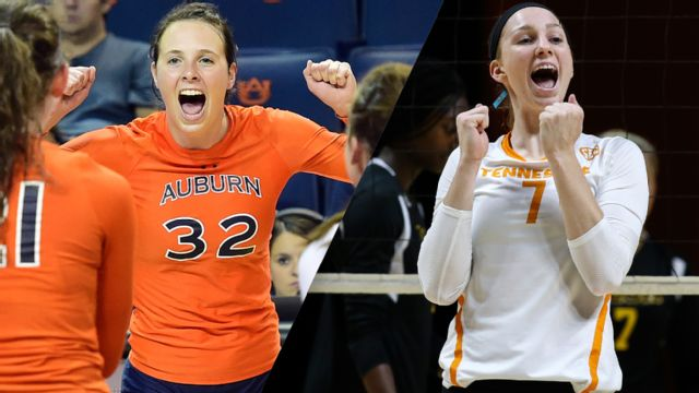 Auburn vs. Tennessee (W Volleyball) (re-air)