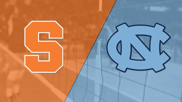 Syracuse vs. #8 North Carolina (W Volleyball)