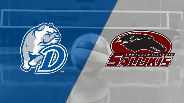 Drake vs. Southern Illinois (W Volleyball)