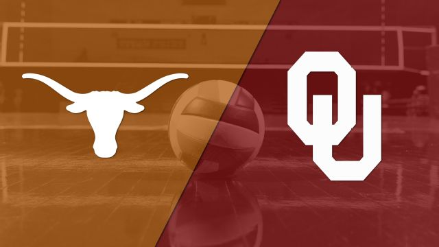 #4 Texas vs. Oklahoma (W Volleyball)