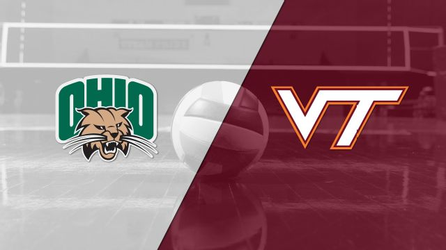 Ohio vs. Virginia Tech (W Volleyball)