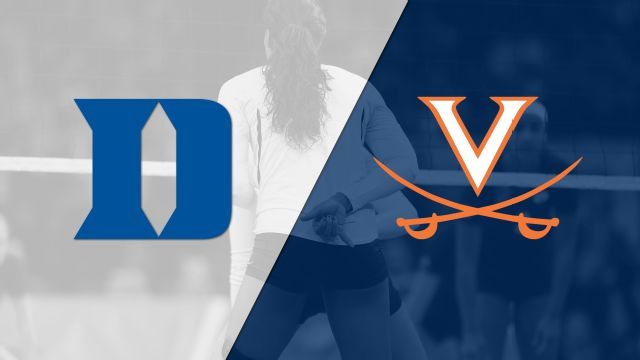 Duke vs. Virginia (W Volleyball)