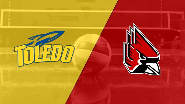 Toledo vs. Ball State (W Volleyball)