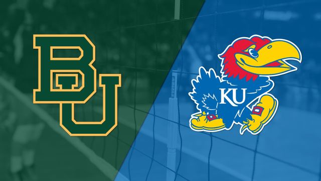 Baylor vs. #8 Kansas (W Volleyball)