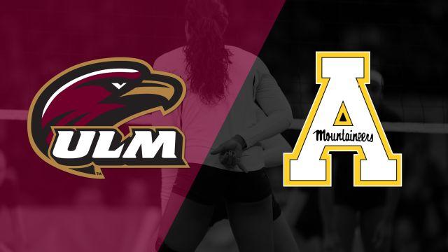 Louisiana-Monroe vs. Appalachian State (W Volleyball)