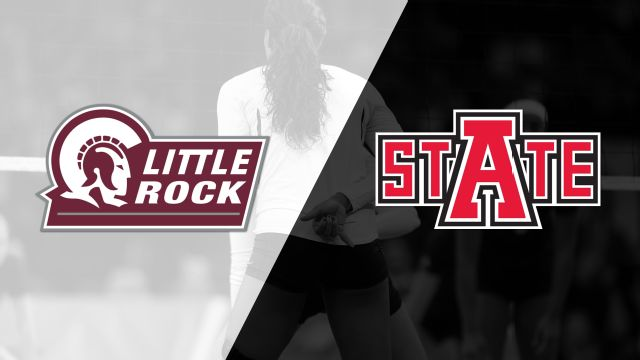Little Rock vs. Arkansas State (W Volleyball)