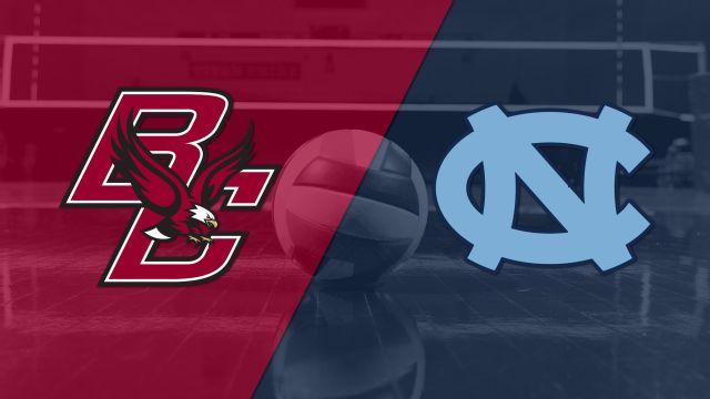 Boston College vs. #8 North Carolina (W Volleyball)