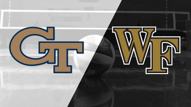 Georgia Tech vs. Wake Forest (W Volleyball)