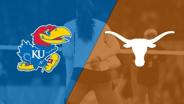 #8 Kansas vs. #5 Texas (W Volleyball) (re-air)