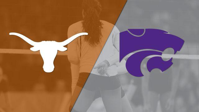 #4 Texas vs. Kansas State (W Volleyball)