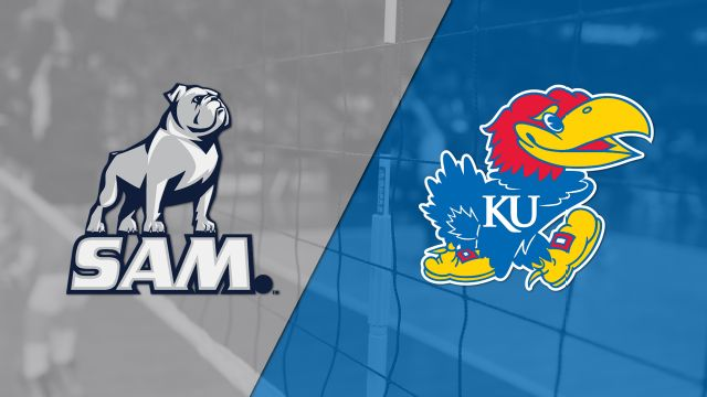 Samford vs. Kansas (First Round) (NCAA Volleyball Championship)