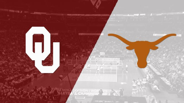 Oklahoma vs. #2 Texas (W Volleyball)