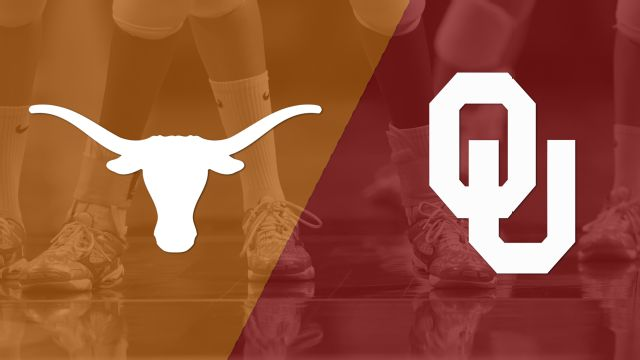 Texas vs. Oklahoma (W Volleyball)