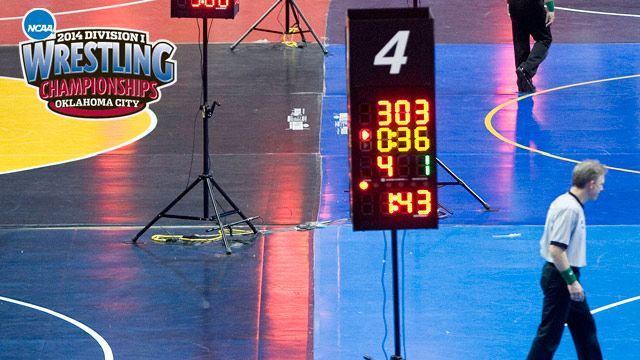 Mat 4 - NCAA Wrestling Championships presented by Northwestern Mutual (First Round - Mat 4)
