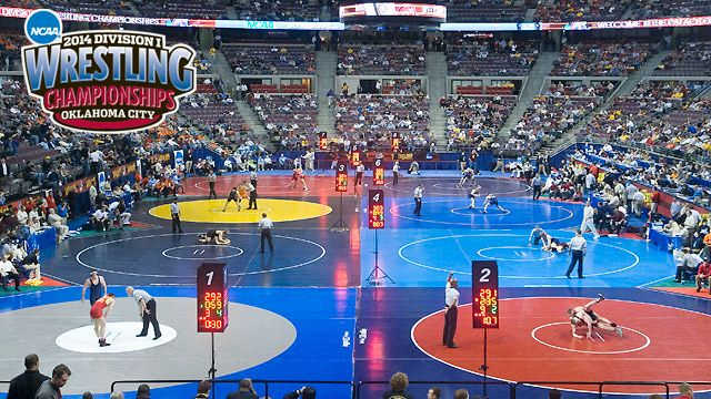 Scoreboard - NCAA Wrestling Championships presented by Northwestern Mutual