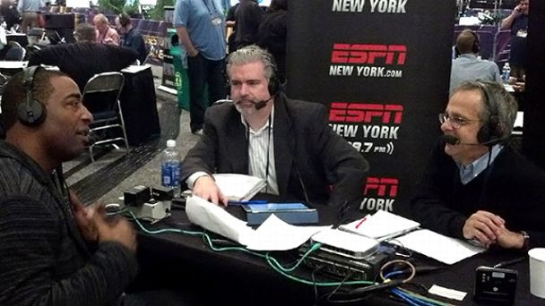 Cris Carter, Don La Greca, Mike Lupica