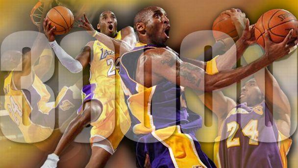 Kobe Bryant 30,000
