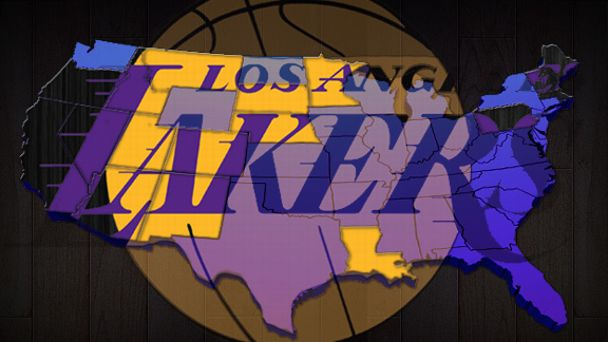 Lakers Map