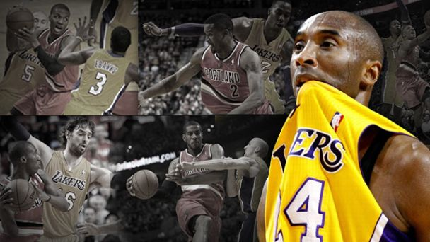 LA Lakers - Blazers