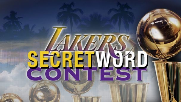 Lakers Secret Word Playoffs