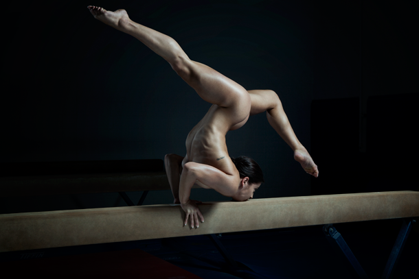 ESPN Body Issue Alicia Sacramone