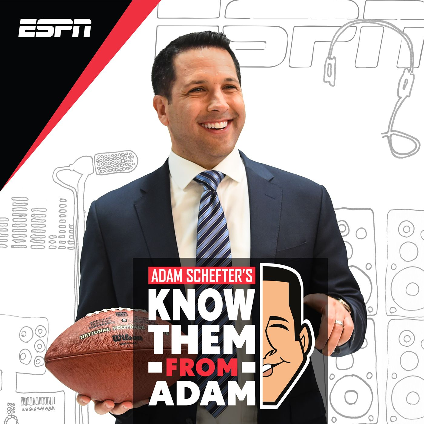 Adam Schefter's Know Them From Adam Logo