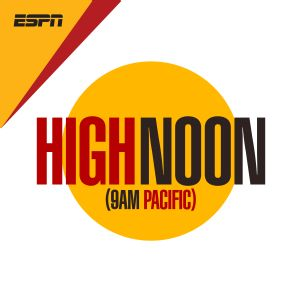 6a3f18e5a1e3 High Noon Show - PodCenter - ESPN Radio