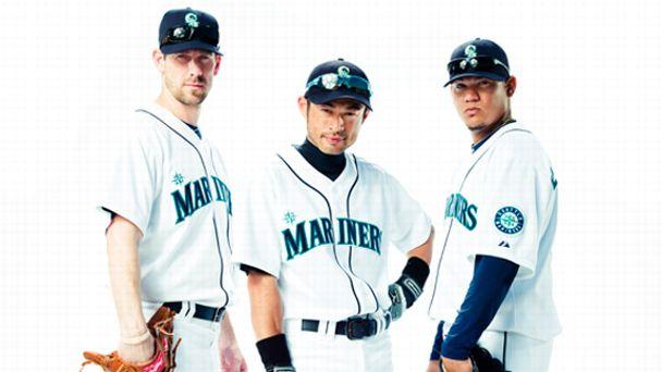 Cliff Lee, Ichiro and Felix Hernandez