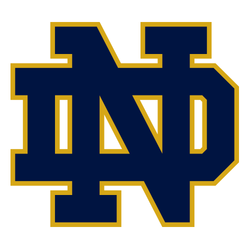 collage football teams score of notre dame game