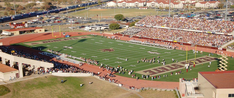 Bobcat stadium tx