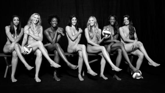 Body Issue 2012: USA Volleyball Team