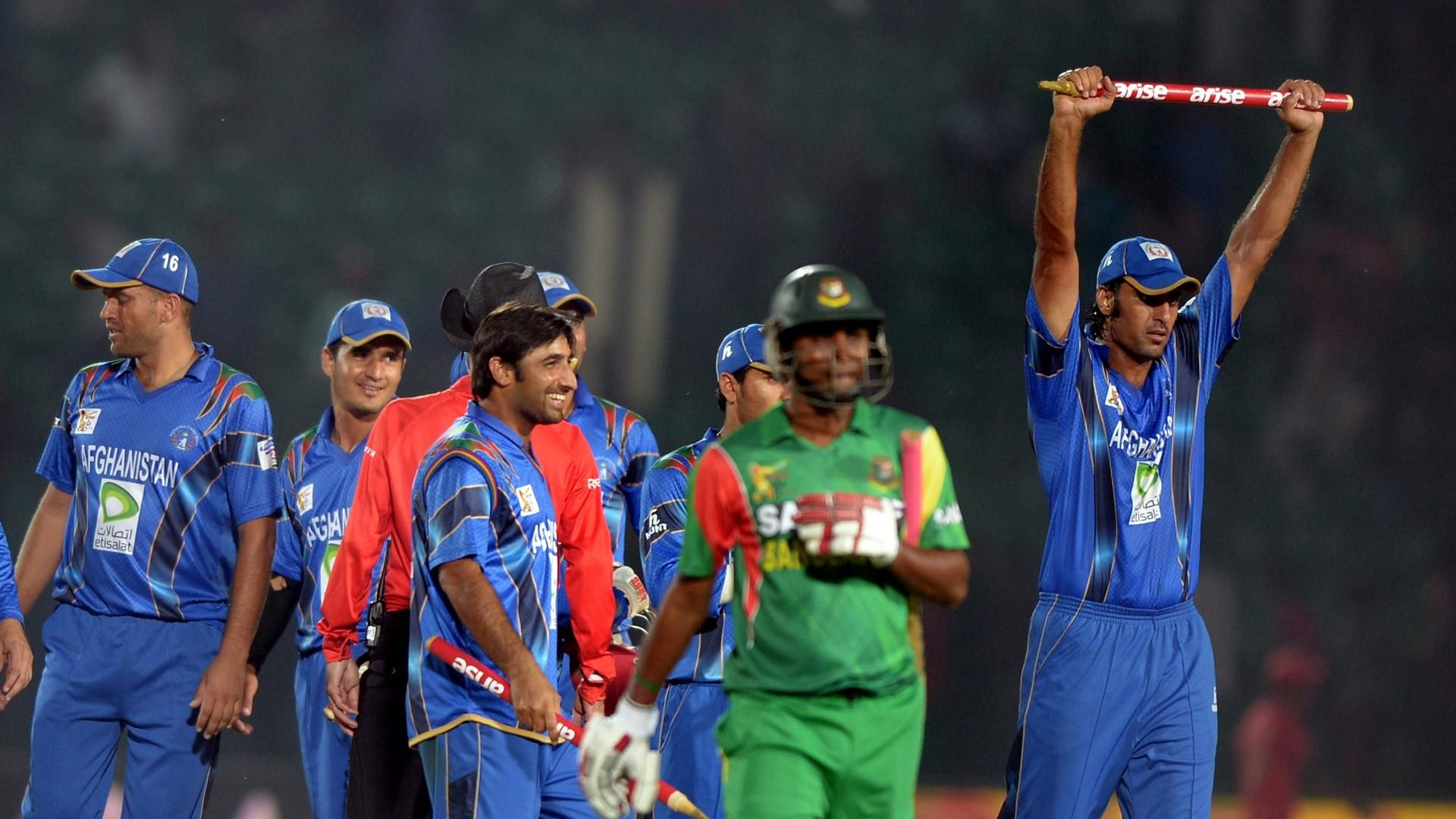 Afghanistan and Bangladesh will be playing first T20i series against each other. (Photo - ESPNCricinfo)