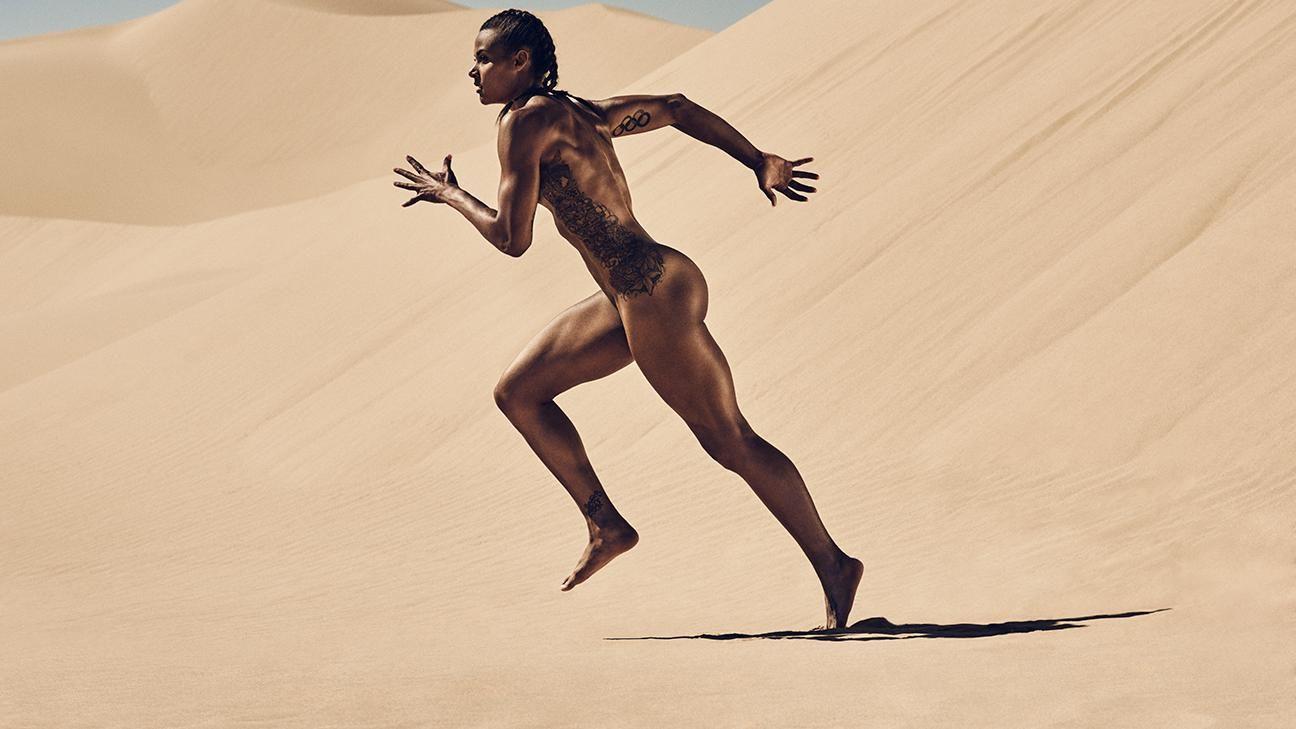 ESPN The Magazine's 2015 Body Issue: Chantae McMillan