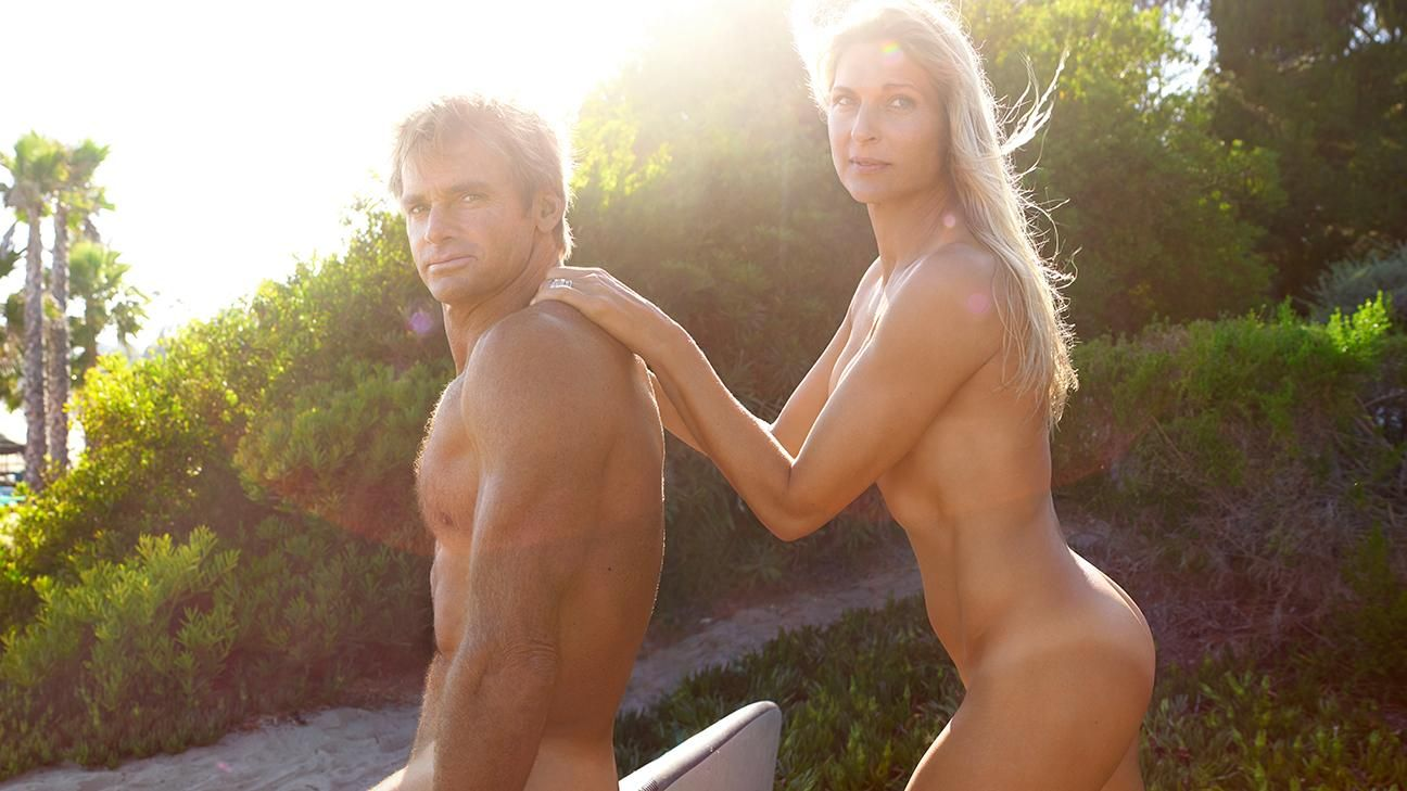 ESPN The Magazine's 2015 Body Issue: Gabrielle Reece and Laird Hamilton