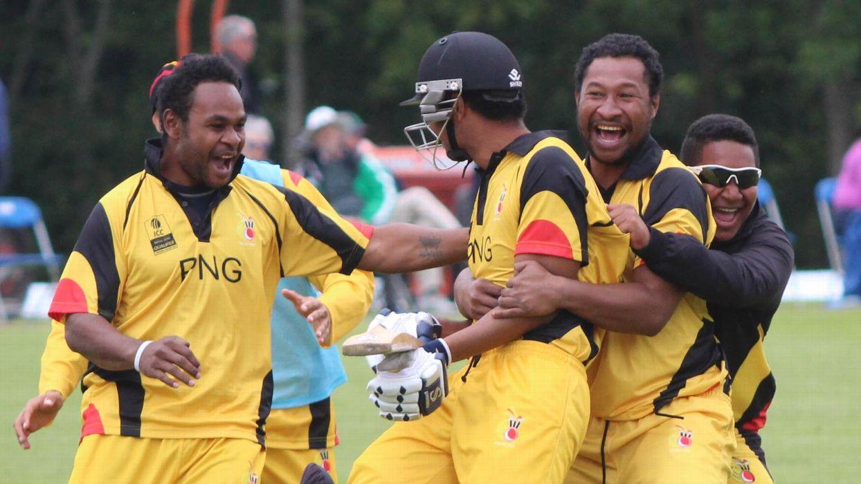 Vanua delivers png 39 s signature moment cricket espncricinfo - Assad guilherand granges ...