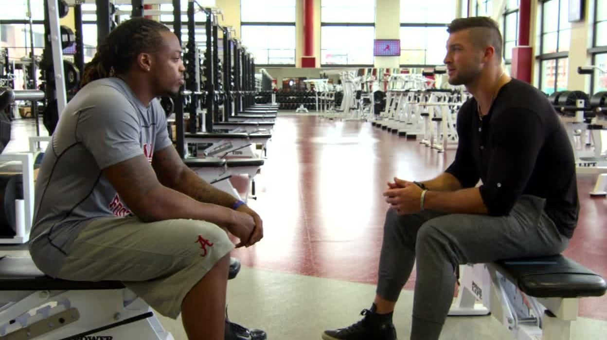 Heisman talk with Tebow and Henry