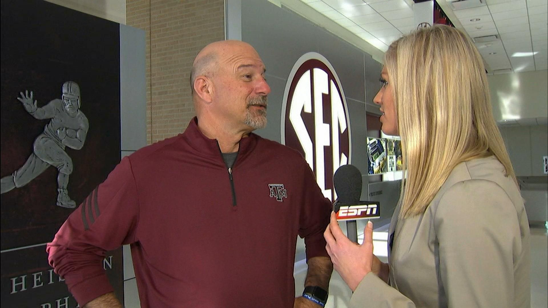 Aggies OC looks to play fast, tough and physical games