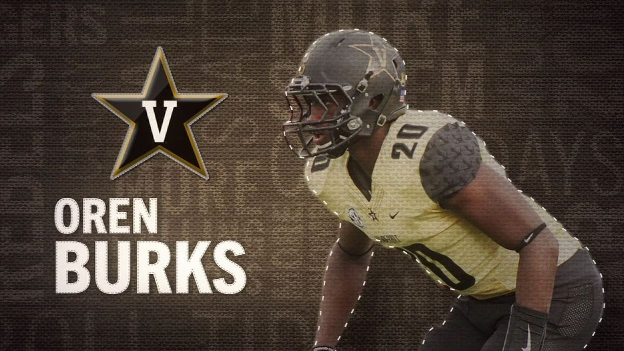 I am the SEC: Vanderbilt's Oren Burks