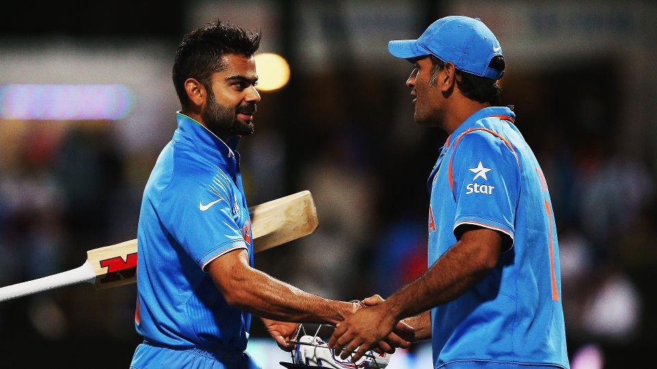 Virat Kohli  MS Dhoni join forces to demolish New Zealand as India     Play