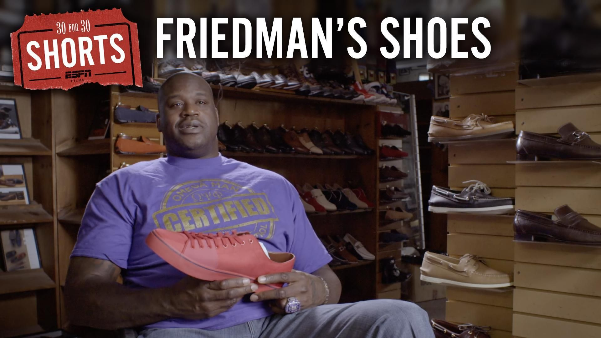 30 for 30 Shorts: Friedman's Shoes