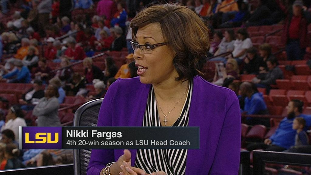 Fargas on LSU's key players in 65-49 win