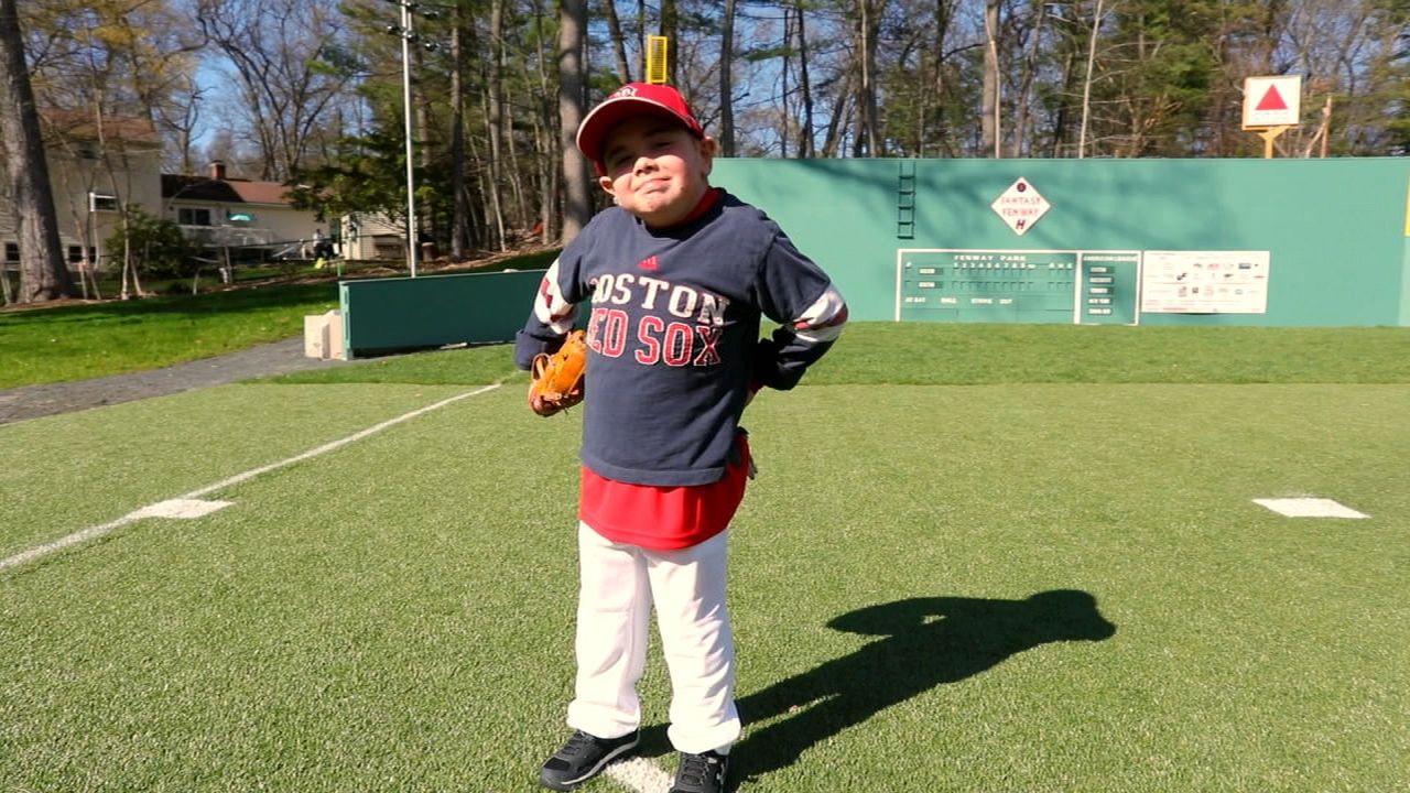 Special fan gets fantasy Fenway