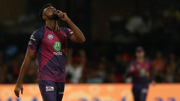 Image result for RPS win by 12 runs - IPL 2017, SRH vs RPS, Highlights: Jaydev Unadkat hattrick sinks SRH