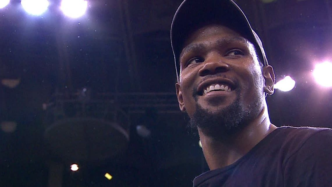 Durant claims what he coveted most