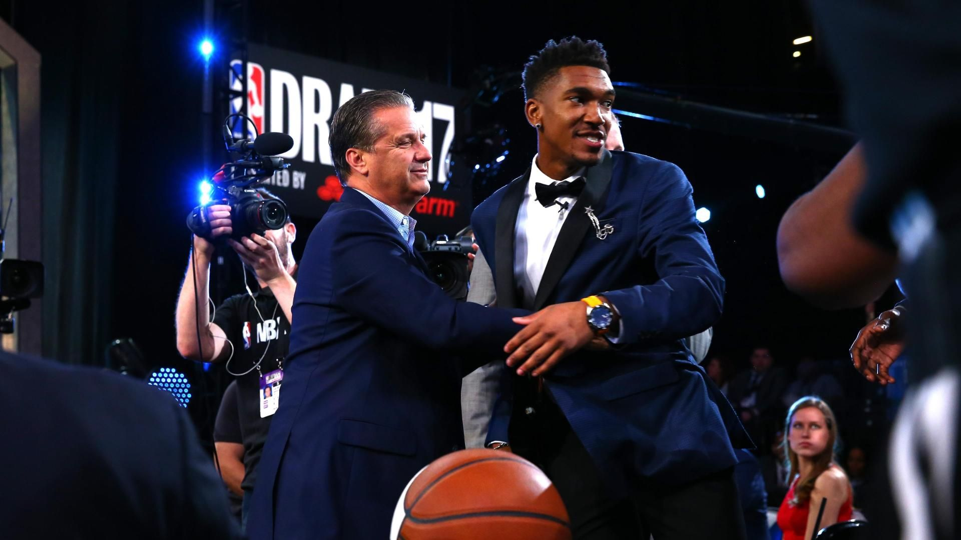 Kentucky has taken over the NBA draft lottery